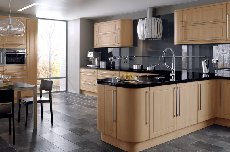 Canadian Maple replacement kitchen doors