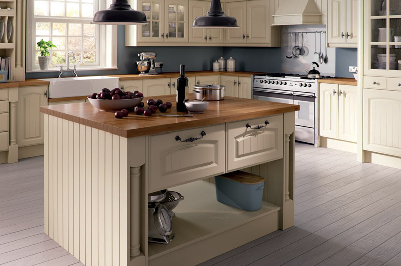 Ivory replacement kitchen doors
